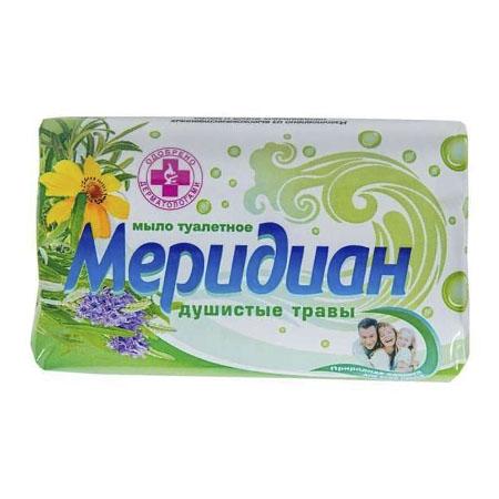 Мыло туалетное МЕРИДИАН Антибактериальное Душистые травы